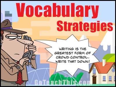 Vocabulary Lesson Ideas