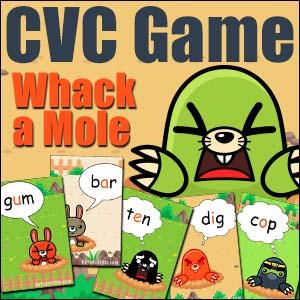 Printable CVC Game