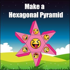 Net-for-Hexagonal-Pyramid