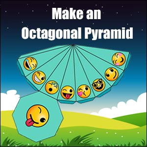 How to Make an Octagonal Pyramid